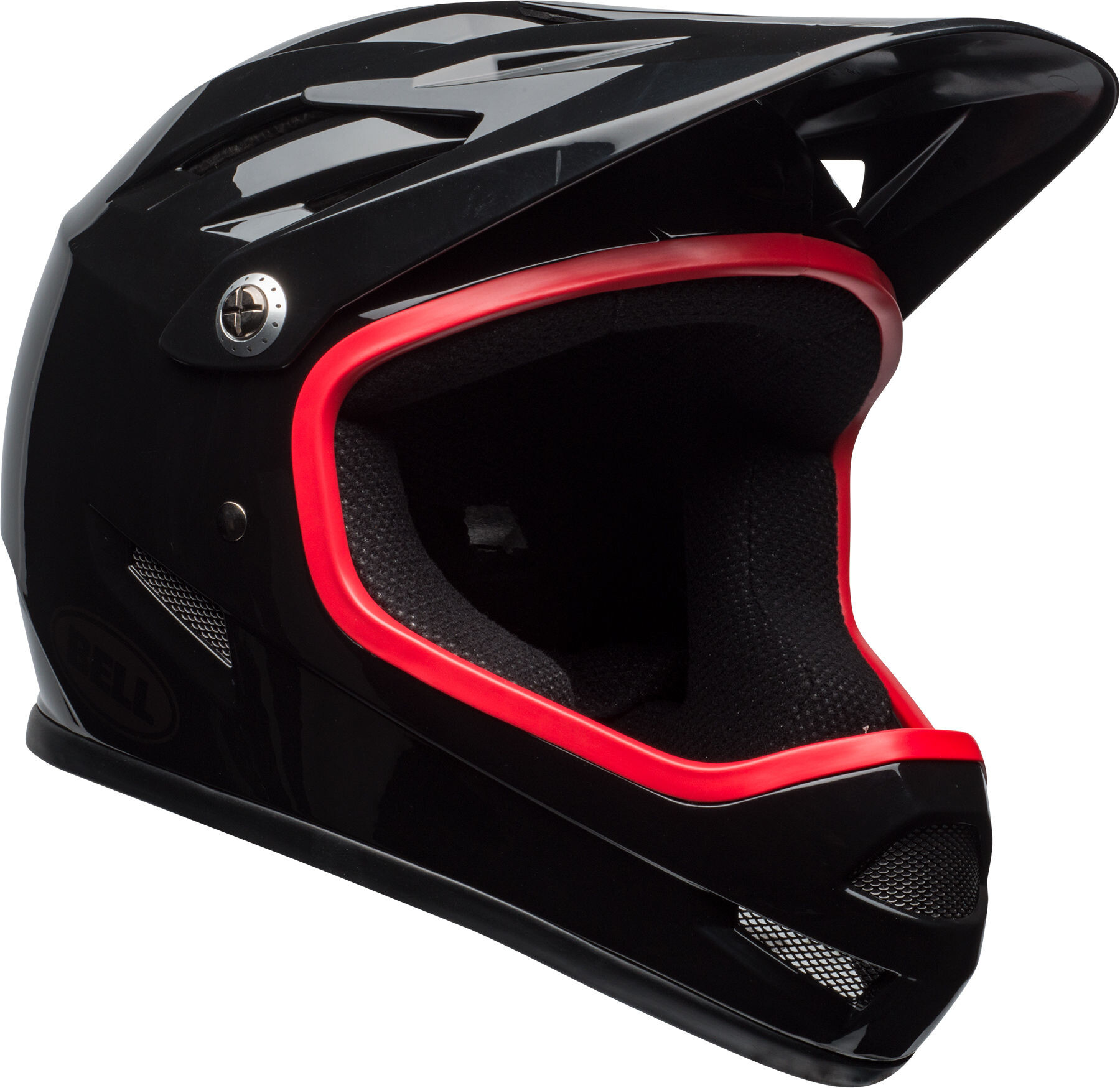 bell sanction full face helmet black hibiscus online kaufen. Black Bedroom Furniture Sets. Home Design Ideas